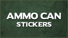 Ammo Can Decals